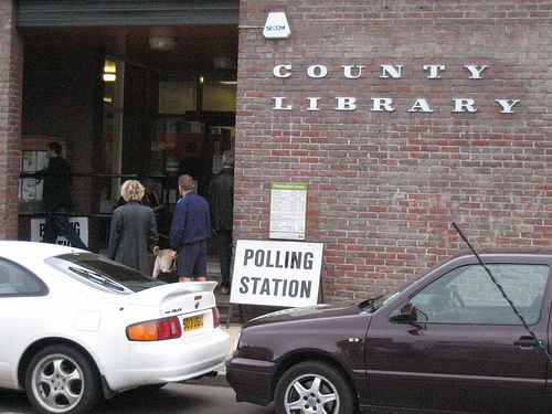 polling stations photo