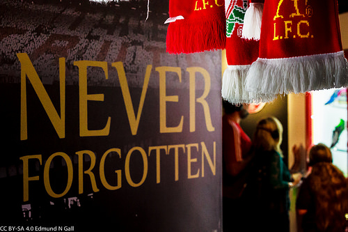 Hillsborough disaster photo